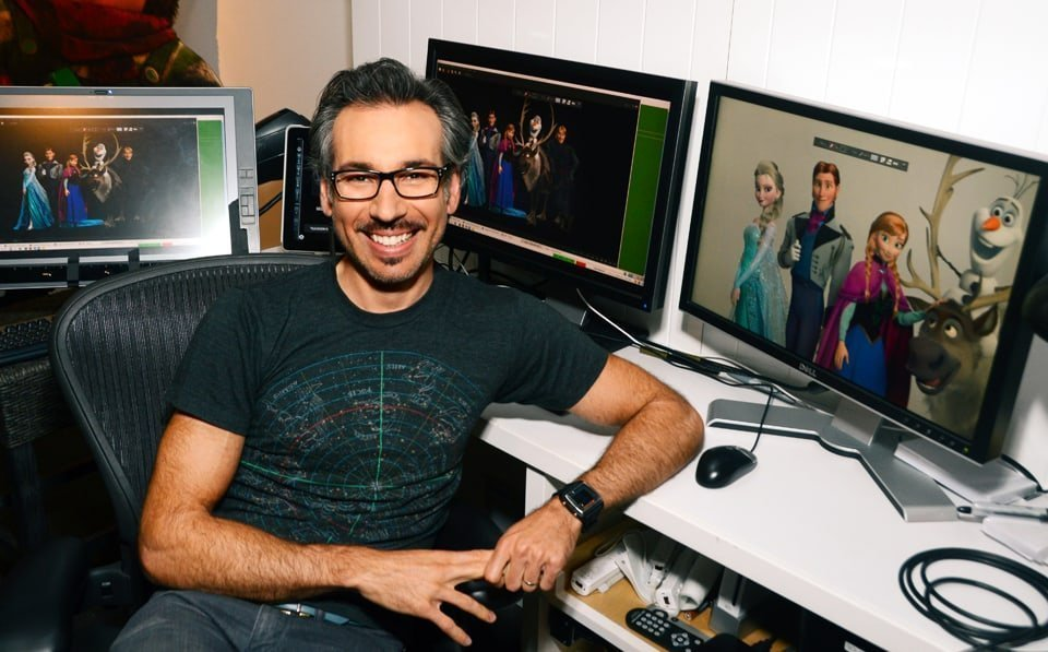 (Pictured) Head of Animation, Lino DiSalvo. Photo By: Araya Diaz. ©2013 Disney. All Rights Reserved.